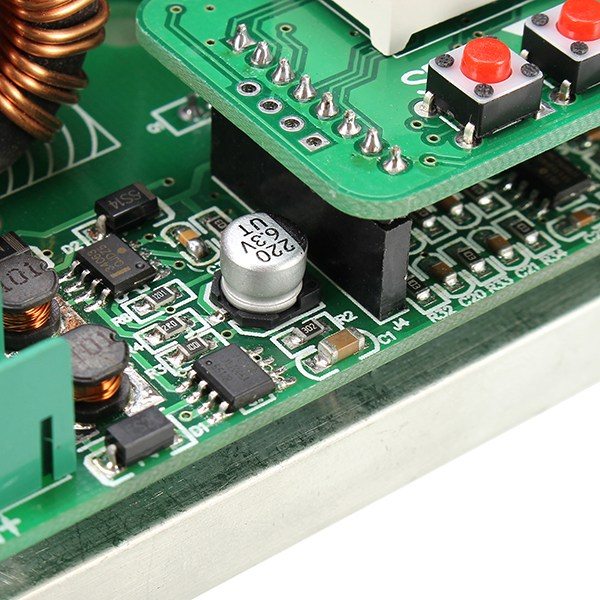 Image 5 - Hot Sale 1PC 600W Digital Control DC DC Adjustable Step Up Module Constant Voltage Current Solar Charging Module Board-in Integrated Circuits from Electronic Components & Supplies