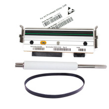 New Compatible S4M Printer Roller & belt & Thermal Printhead For Zebra S4m 203dpi Barcode Printer