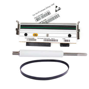 New Compatible S4M Printer Roller & belt & Thermal Printhead For Zebra S4m 203dpi Barcode Printer - DISCOUNT ITEM  6% OFF All Category