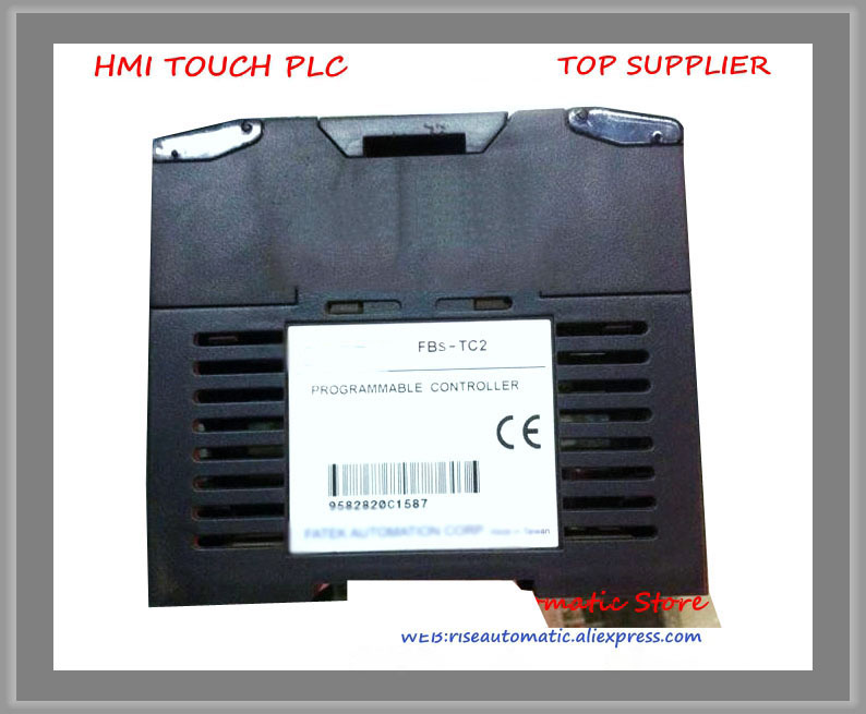 FBs-2TC New Original PLC 24VDC 2 thermocouple input module Module fbs 24ma new original