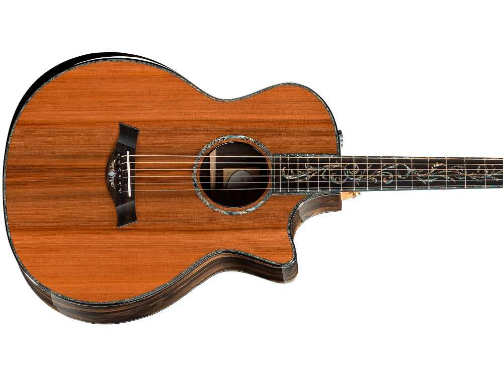 Chaylor solid cedar top SP14 acoustic guitar,Real abalone inlays Ebony fingerboard,Cocobolo Back and sides acoustic Guitar