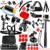 Gopro Acessórios combinações de Luxo Titular Polvo Tripé Suporte Suporte de Montagem monopé para gopro hero 5 5S 4 3 + eken h9 GS28