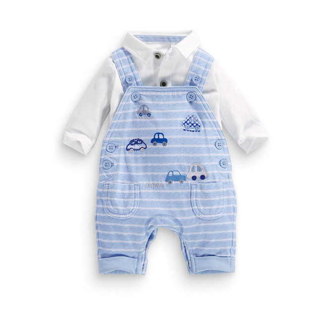 98ffdfdbed5 newborn baby clothes boys girls clothing sets onesie baby rompers Bib short  cotton character car spring Autumn creepers suit