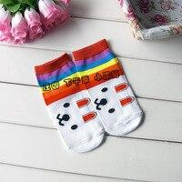 бесплатная доставка прекрасный мультфильм носки носки спортивные носки