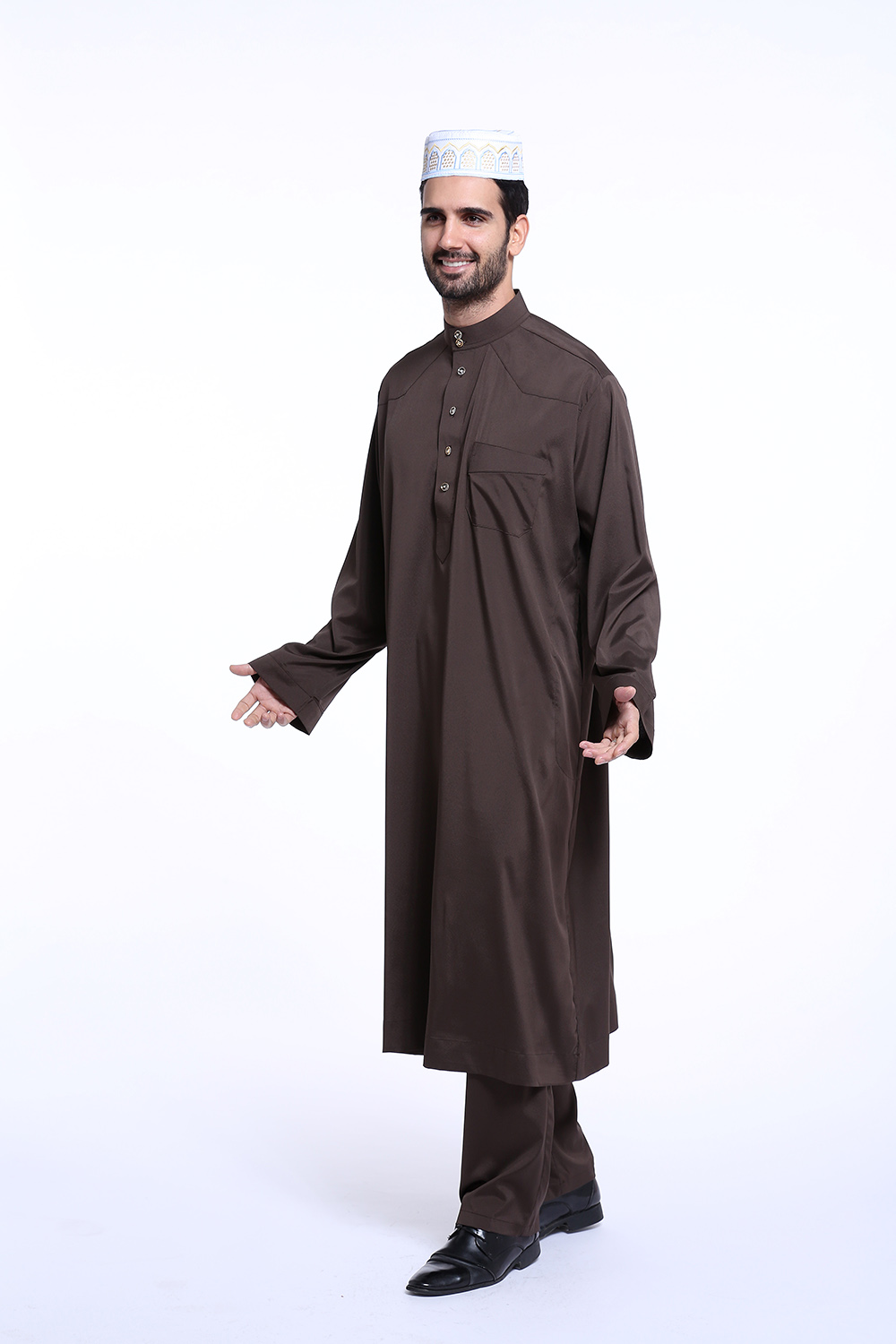coats muslim single men Buy coolred men round neck muslim solid colored single breasted vogue gowns and other vests at amazoncom our wide selection is elegible for free shipping and free returns.