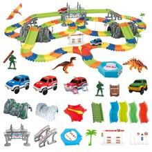 5,5 см DIY гоночный трек игрушка универсальные аксессуары для волшебной дорожки обучающая вагонка игрушка для трека для детей Подарки
