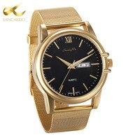 Lancardo New Top Luxury Watch Men Brand Men S Watches Stainless Steel Mesh Band Quartz Wristwatch