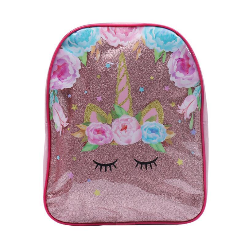 New Cartoon Mochilas Infantil Snow Queen Kids Schoolbag Baby Girls Lovely Kindergarten Backpacks Children Unicorn School Bag