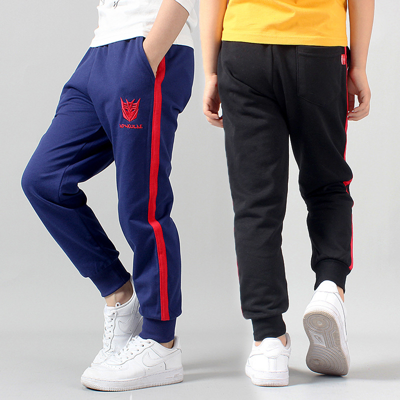 Retail New Warm Velvet Pants For 3 16Y Yeas Solid Boys Girls Casual Sport Pants Jogging Enfant Garcon Kids Children Trousers-in Pants from Mother & Kids