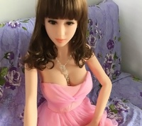 Solid silicone Intelligent heating inflatable doll Beautiful sexy girl Emulation of female dolls