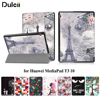 Phone Cases For Huawei MediaPad T3 10 Patterned PU Leather Protective Cover With Stand For Huawei