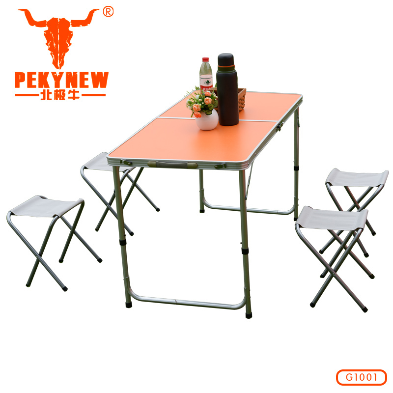2015 outdoor furniture folding pliante portable picnic camping garden jardin table and chairs