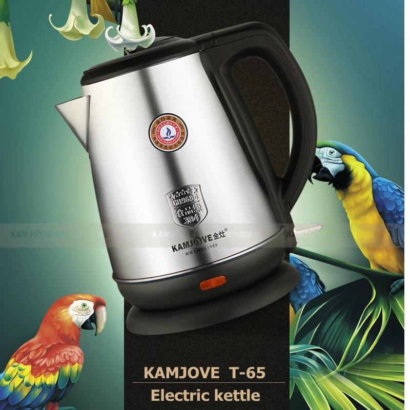 KAMJOVE T 65 الفولاذ المقاوم للصدأ الكهربائية غلاية الحرارة الحفاظ إبريق الشاي الكهربائية التلقائي قدرة كبيرة غلاية-في غلايات المياه من المنزل والحديقة على  مجموعة 1