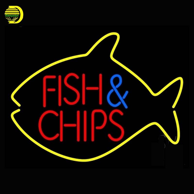 Online get cheap fish shop display for Fish neon sign