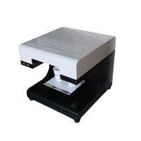 High speed 2 cups selfie coffee printer 3d machine for Coffee Cappuccino/Chocolate Tea/Biscuits/Cake