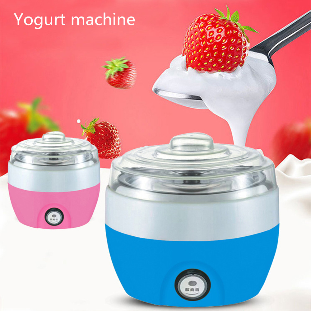 New Automatic Stainless Steel Bile Plastic Automatic Constant Temperature Solid Feeding Machine For Children Making Yogurt