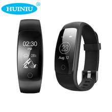Huiniu id107 плюс hr спорт браслет сердечного ритма bluetooth smartband монитор шагомер здоровье фитнес отслеживания для android ios