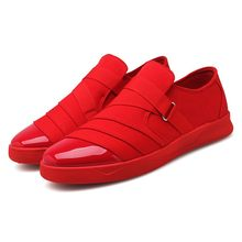 Mens Casual Sneakers Leves mocassim Mens Formadores Tênis Respirável Lazer Blauwe Mannen Schoenen Sapatos Primavera Outono(China)