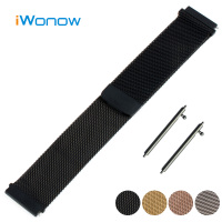 Milanese Stainless Watch Band 18mm 20mm 22mm For Casio BEM 302 307 501 506 517 EF