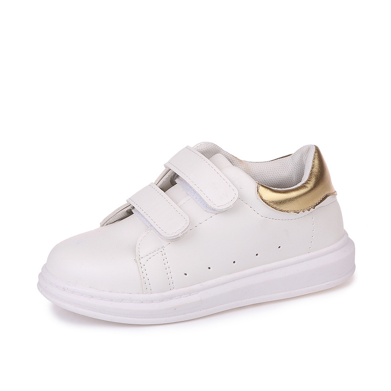 Toddler Kids White Sneakers Boys Girls Spring Summer Shoes Children Casual Shoes for 1-12 Years Old Baby Sneakers Sport Shoes