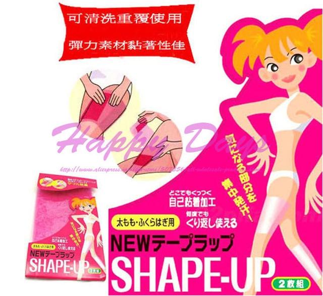 2e854627ba45b Sauna Leg Slimming Belt Abdomen Wrap Thigh Tummy Calf Lose Weight Shape Up Slim  Patch Sticker 100pack (2pcs pack)