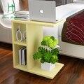 La simplicidad creativa de apartamentos de gran tamaño salón móvil pequeña mesa de té mesa de sofá multifuncional mesa de Té Kung Fu