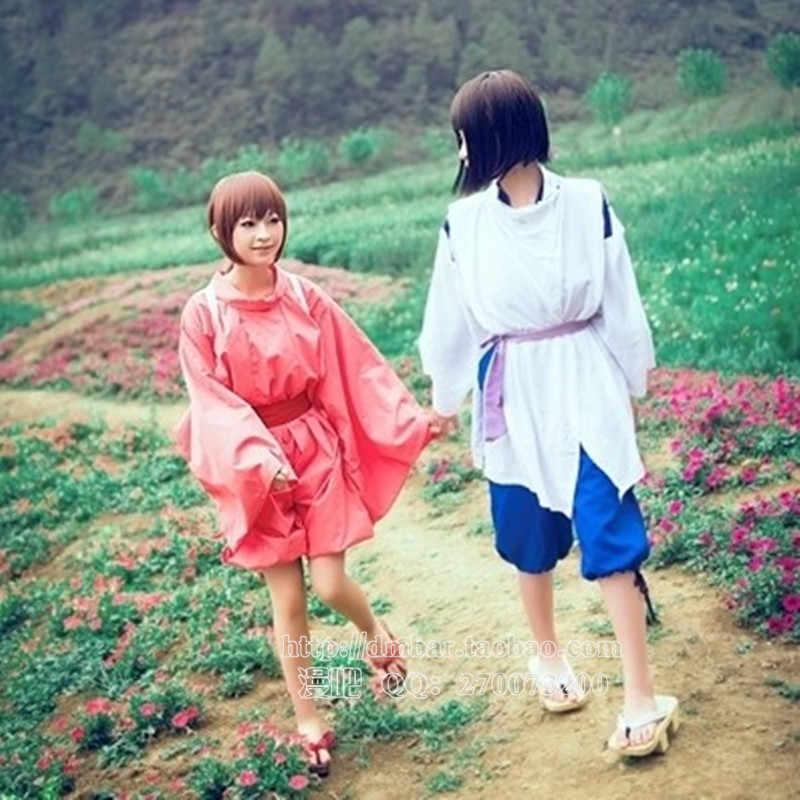 Free Shipping Spirited Away Sen To Chihiro No Kamikakushi White Dragon Haku Nigihayami Kohakunushi Uniform Cosplay Costume Aliexpress