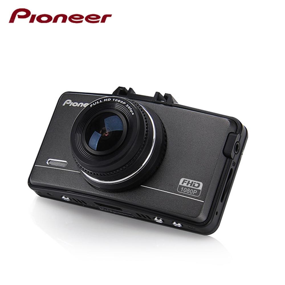Pioneer Full HD 1080p Мини Автомобильный dvr видеомагнитофон 2,7 дюймов черный ящик с gps g-сенсор ночного видения DVR20