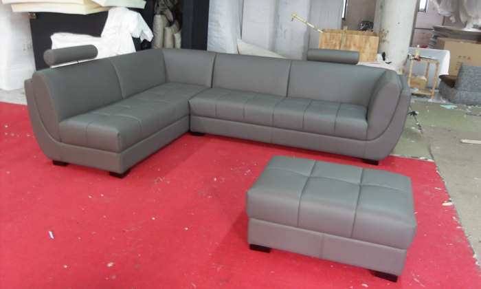 online kaufen großhandel leder sofa ottoman aus china leder sofa