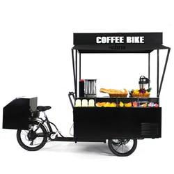 Street mobile vending fast food bbq bike