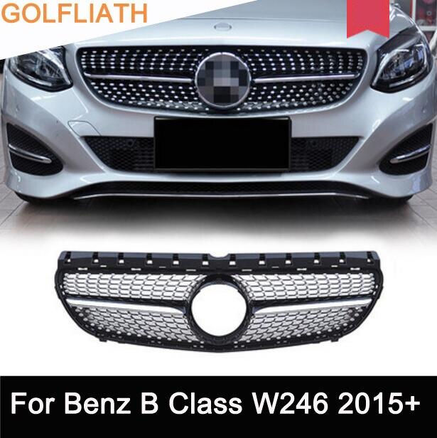 Abs Chrome Fit Mercedes Benz W246 B200 B Class 2015 2016