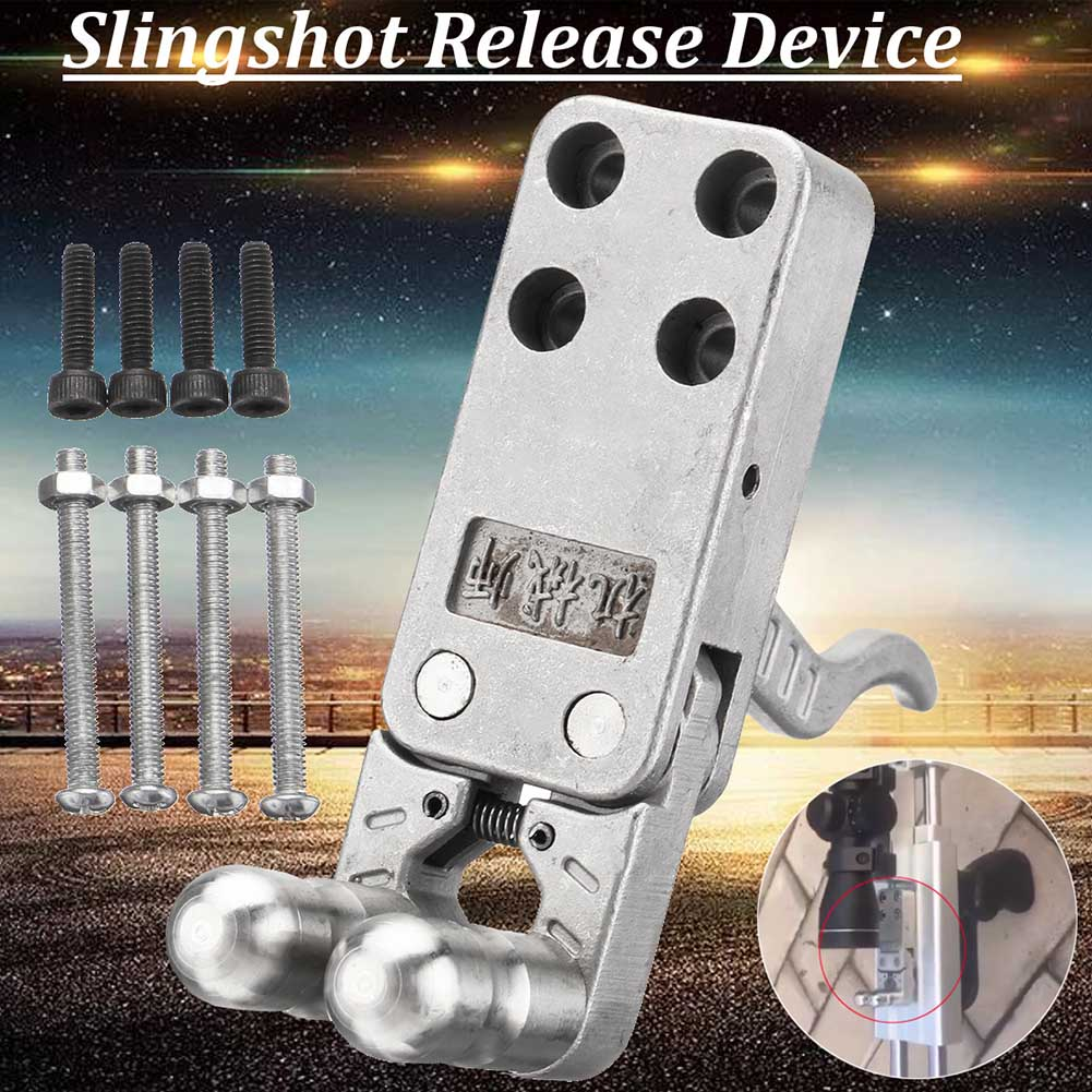Stainless Steel Slingshot Release Device Polishing DIY Catapult Trigger  Fishing Tools Accessories
