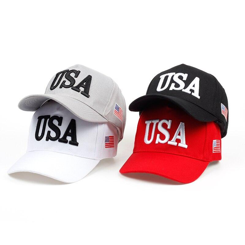 2018 neue männer Frauen Baseballmütze Machen Amerika Große Hut Wieder Hysteresenkappe Männer USA Hip Hop Caps Gorras Cap Hut Großhandel