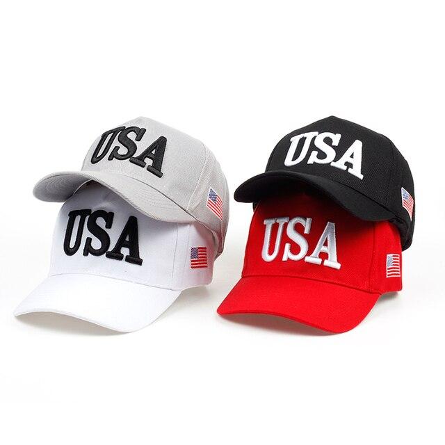 2018 new men Womens Baseball Cap Make America Great Again Hat Snapback Cap  Men USA Hip Hop Caps Gorras Cap Hat Wholesale 9996d44e2c