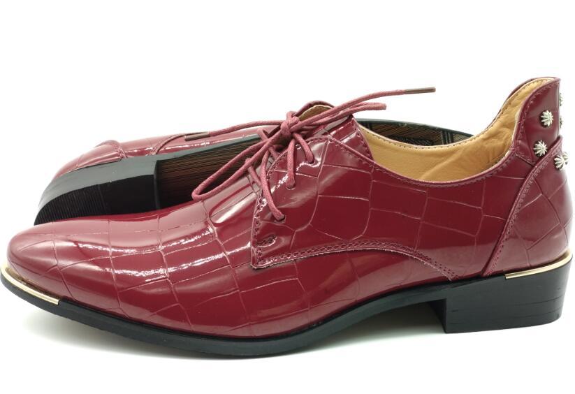 Grande bleu 8 Oxford Automne En 2017 Noir Noir 48 Taille Cuir Hommes Loisirs rouge Bleu Homme Rouge D'affaires Casual Plat Chaussures Up Dentelle Nouveau qw0BRAw