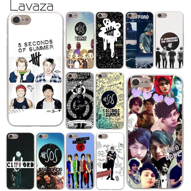 san francisco a6026 5373c US $1.99 22% OFF|Lavaza 5 Seconds of Summer 5SOS Hard Phone Cover Case for  Apple iPhone X XR XS Max 6 6S 7 8 Plus 5 5S SE 5C 4S 10 Cases 8Plus-in ...