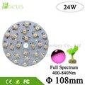 LED Grow Light 24W Full Spectrum 400nm-840nm Light Beads 30mil With 108MM PCB For Plant Vegetable Flower Fruit Growth
