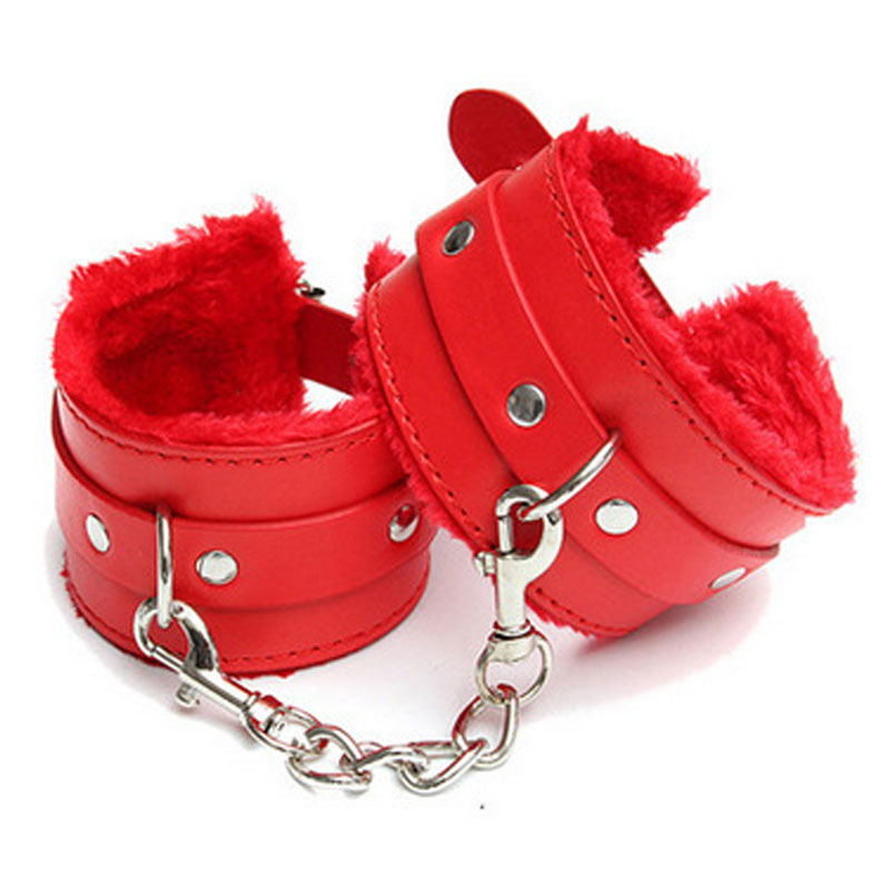 4 Colors PU Leather Hand Cuffs Restraints Slave Sex Toys Fetish Adult Games Bdsm Bondage Tools Handcuffs Sex Toys For Couples