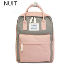 Campus Women Backpack School Bag for Teenagers College Canvas Female Bagpack 15inch Laptop Back Packs Bolsas Mochila(China)