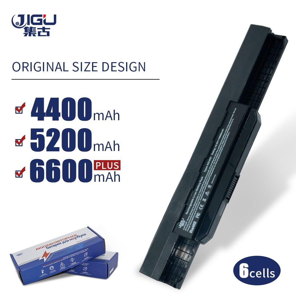 JIGU K53u batería del ordenador portátil para Asus A32 K53 A42-K53 A31-K53 A41-K53 A43 A53 K43 K53 K53S X43 X44 X53 X54 x84 X53SV X53U X53B X54H