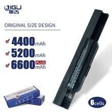Jigu bateria para laptop k53u, para asus a32 k53 A42 K53 A31 K53 A41 K53 a43 a53 k43 k53 k53s x43 x44 x53 x54 x84 x53sv x53u x53b x54h