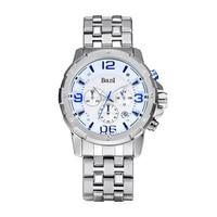 Top Luxury Brand Men Sport Quartz Waches Men S Stainless Steel Strap Date Clock Male Casual