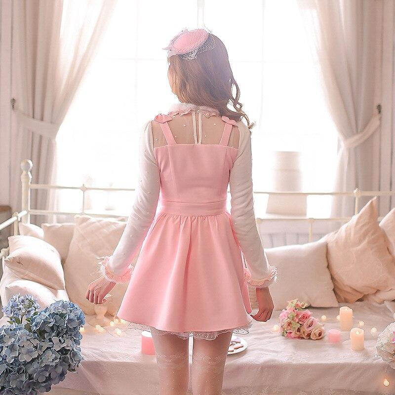 Le Sweet Sucrerie Amer Tissu Dressc15cd5019 Morceaux Pluie Somme Douce Mou Vent Vergerette Princesse Hors Deux De Avec Lolita Robe gCaOwq