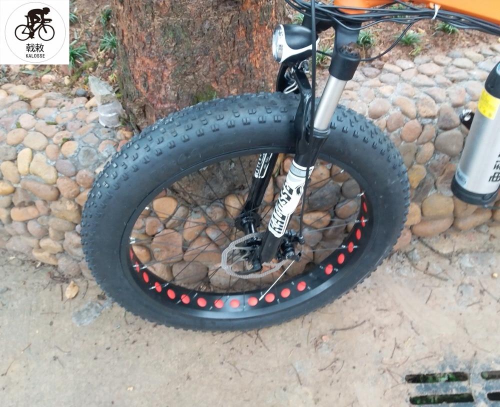 bd034e2be11 Велоспорт Kalosse 58km/h M4000 27 speed 48V 15A 1000W Hydraulic brakes electric  beach bicycle electric snow bike