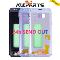 Warranty Middle Frame Housing For SAMSUNG GALAXY S8 S8 Plus G950 G955 Rear Chassis Bezzel With