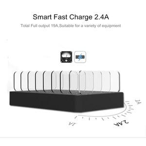 Image 5 - SZYSGSD 96W Usb oplader Multi USB Laadstation Dock 8 Poort Voor iPhone ipad Huawei Telefoon Oplader Tablet Power adapter