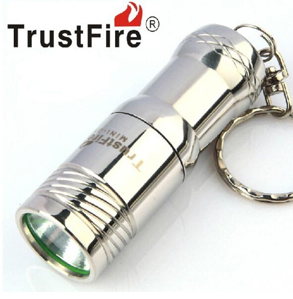 2015 TrustFire Mini 01 CREE XM-L T6 400 LM LED Keychain Led FlashLight Torch +CR123A Battery
