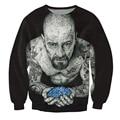 Женщины Мужчины 3d Подписали Crewneck Толстовка татуировку Breaking Bad Уолтер Уайт Гейзенберг Мода Clothing Топы Перемычки Наряды
