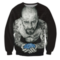 Women Men 3d Inked Heisenberg Crewneck Sweatshirt tattooed Breaking Bad Walter White Fashion Clothing Tops Jumper Outfits
