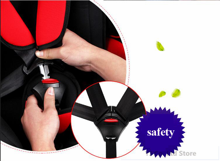 car-styling Baby Car Safety Seat Belt Buckle Clip Safety Protection Lock Mini Seat Belt Buckle Adjustment Child Fastener Lock